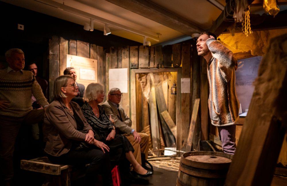 In de tentoonstelling brengen acteurs de personages uit het Rampjaar tot leven