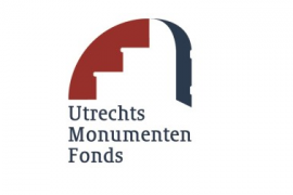 Logo Utrechts monumenten fonds website